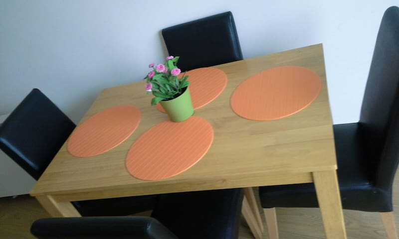 Double bedroom,queen size bed and private Bathroom - Dublin - Byt