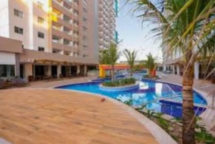 Enjoy Olimpia Park Resort, em frente ao Thermas