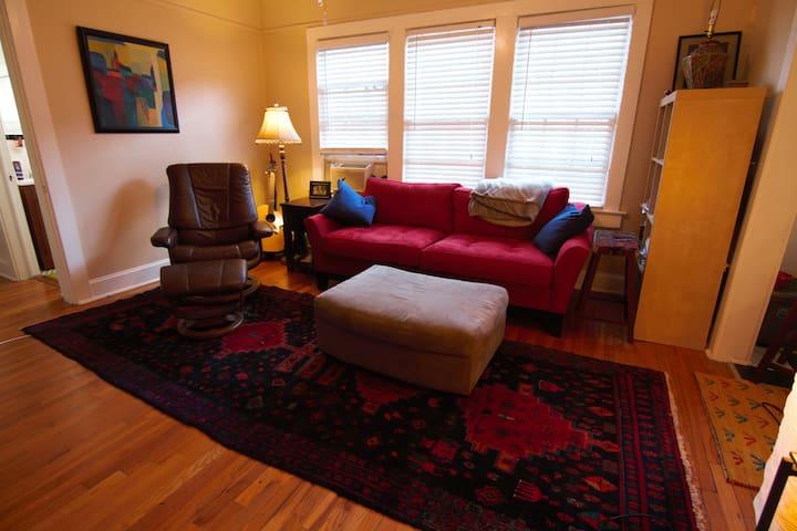 Prime location, great Midtown Apt - Atlanta - Apartment