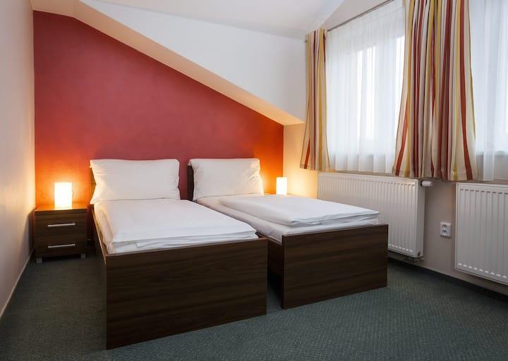 Pokoj pro dva s oddělenými postelemi