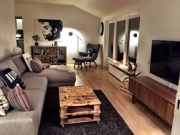 Large room in an Amazing Villa. 10 min to city