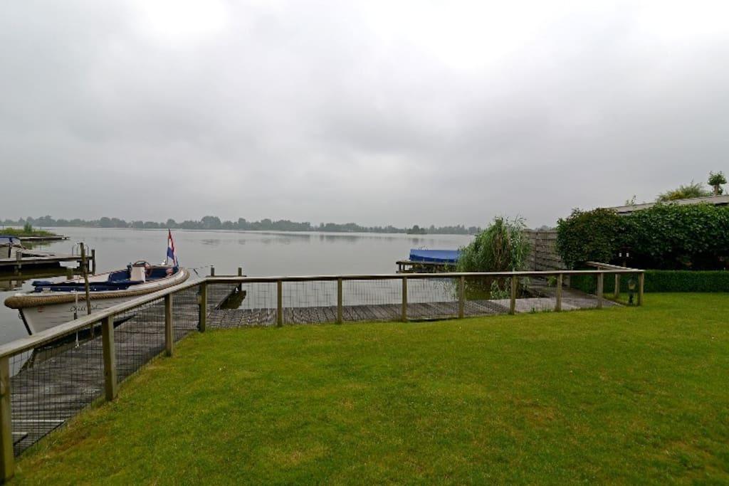 Nice view over the lake