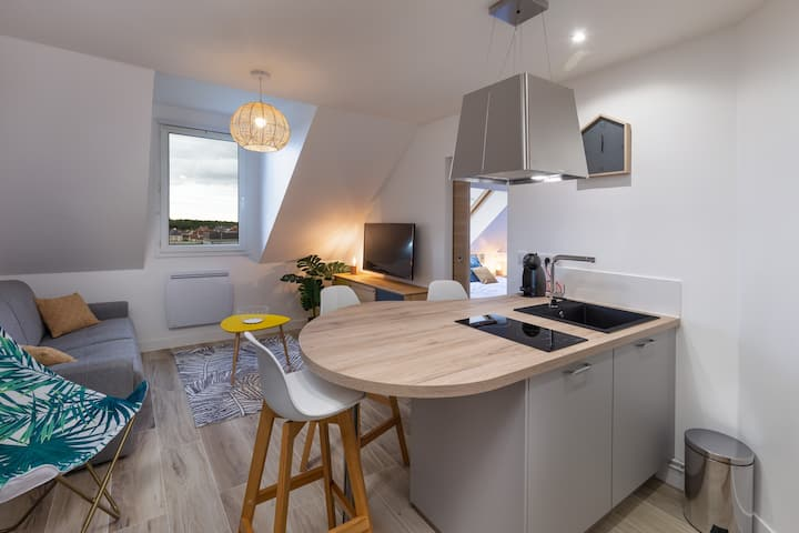 Superbe Appartement 4 pers+1 bb -  3km DisneyLand