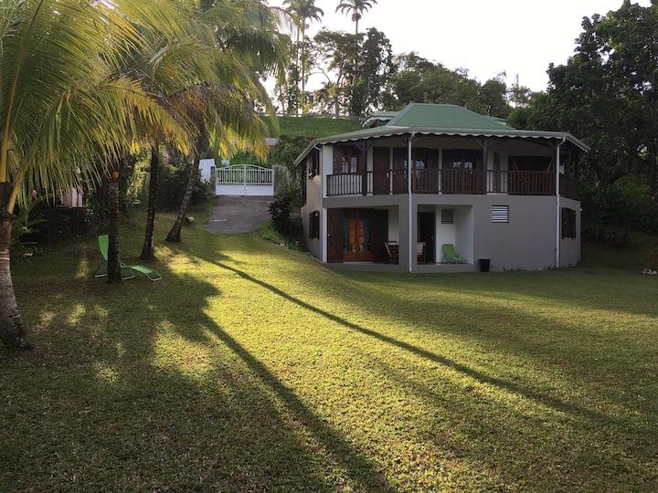Bas de Villa «Jardin Tropical» Guadeloupe