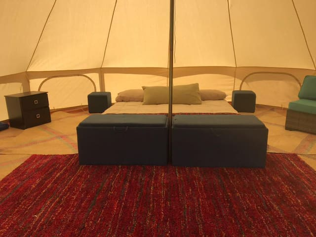 Baja View: One king size bedroom glamping 4.