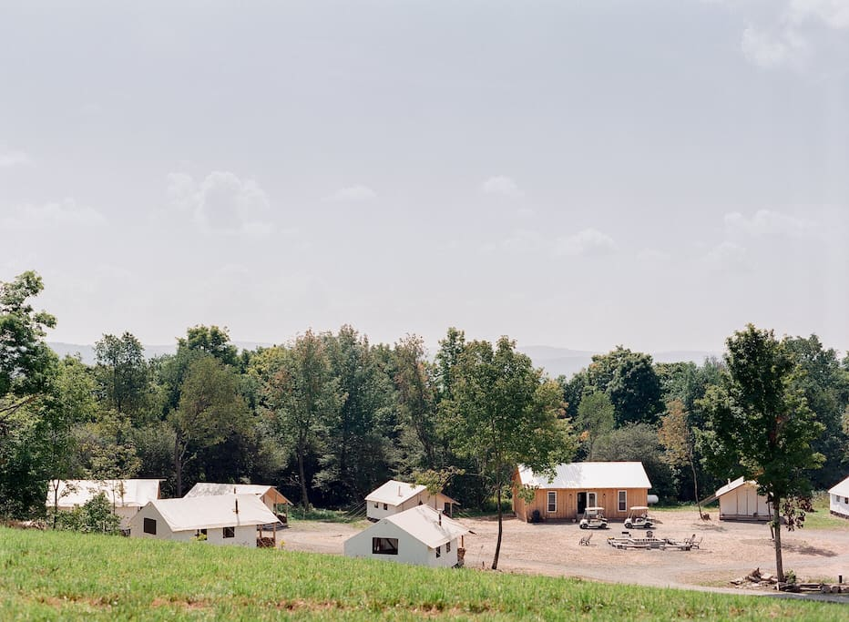 Gilbertsville Farmhouse Glamping Village
