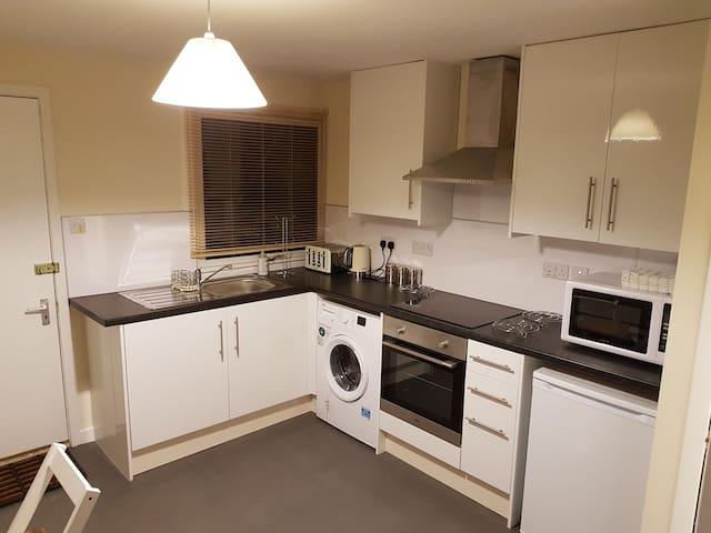 kitchen / lounge area