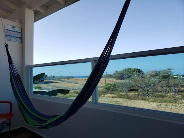 Room private balcony.