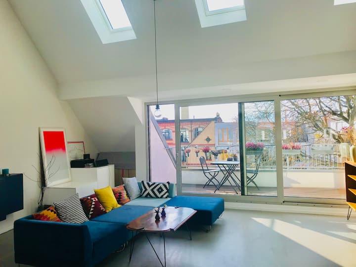 130m2 3 Bedroom maisonette in Berlin Mitte