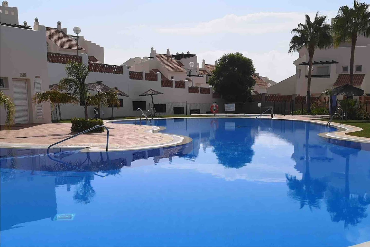 2 private pools with beautiful gardens.