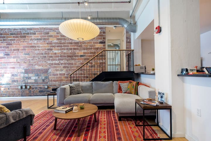 Stylish loft in the best neighborhood in the city!