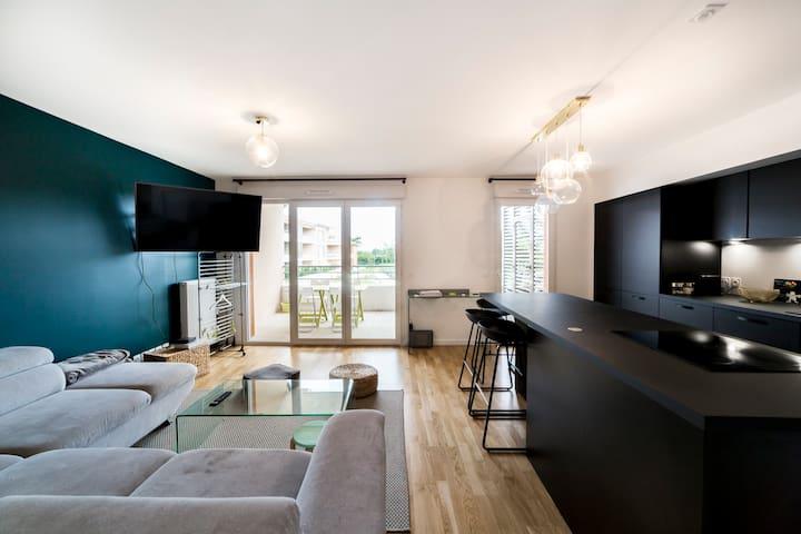 Appartement neuf - terrasse - garage
