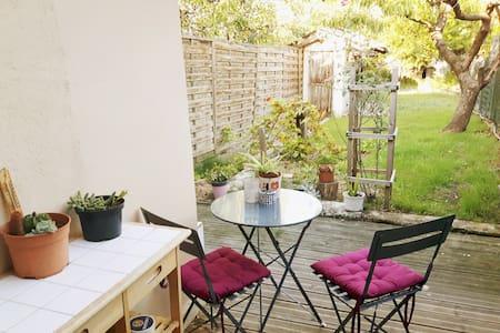 Maison cosy avec jardin à deux pas de Bordeaux - Floirac - Casa