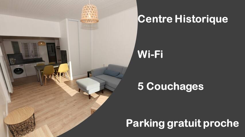 Appartement 5 couchages