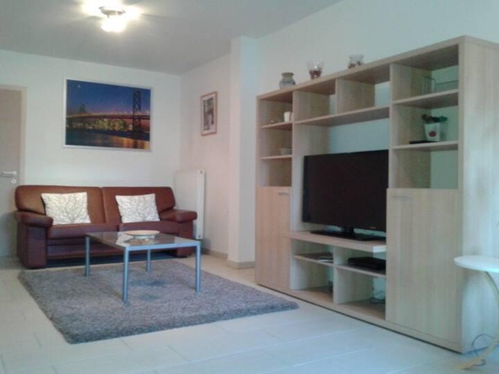 Studio meublé Bruxelles tout confort (70 m²)