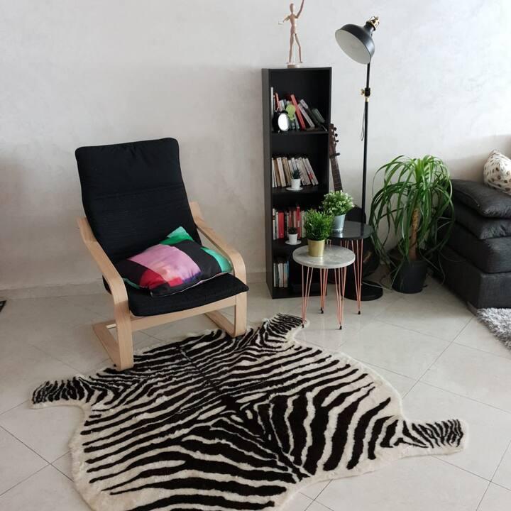 Appartement 3 chambres, salon au cœur de kenitra