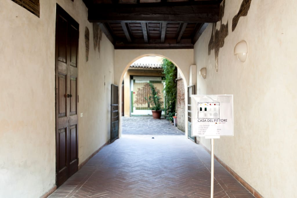 Androne ingresso