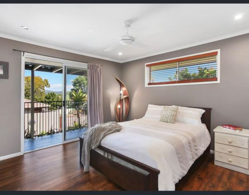 Master bedroom with walk in robe and ensuite