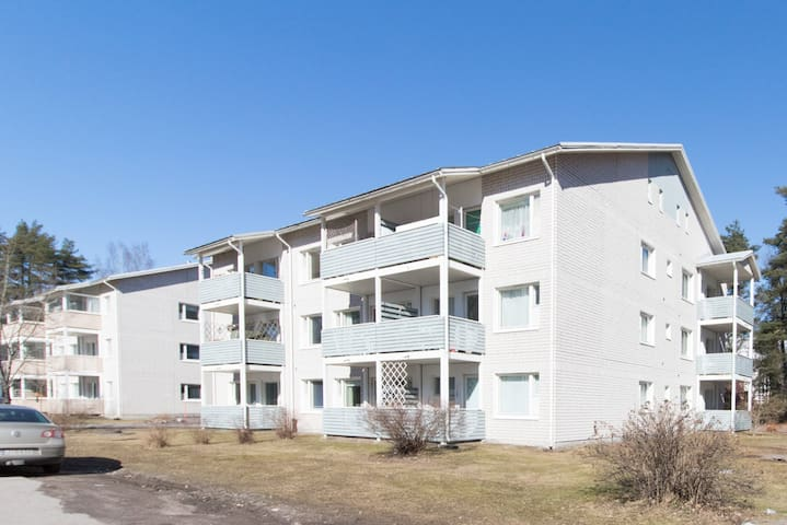 Two bedroom apartment in Imatra, Kanava-aukio 1