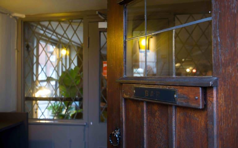 Chequers Inn a 15th century coaching inn (Room 4)
