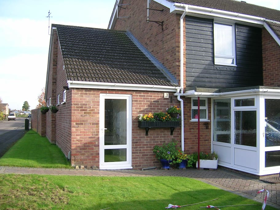 Front of house/annexe