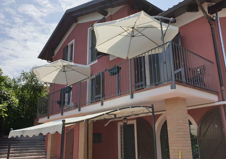 Luxurious villa in Monferrato hills