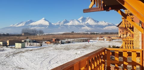 LUXUS IN HEART HIGH TATRAS/2Terrace&amazing view