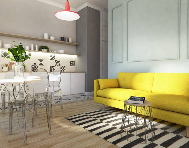 Classic Apartment in Zacisze Apartments by Habitan