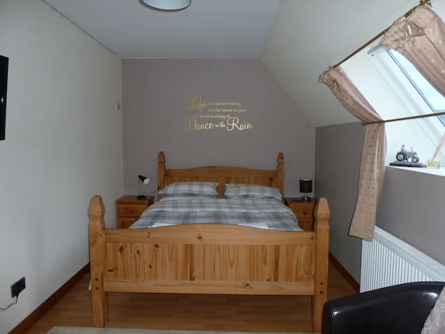 Double room, close to Skye's most northerly point.