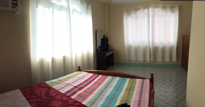A.) Private Room w/ AC