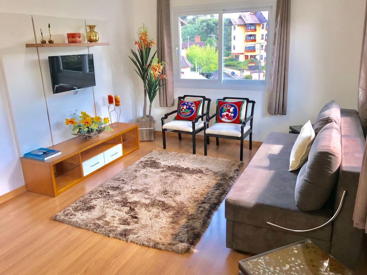 Sala de estar e TV
