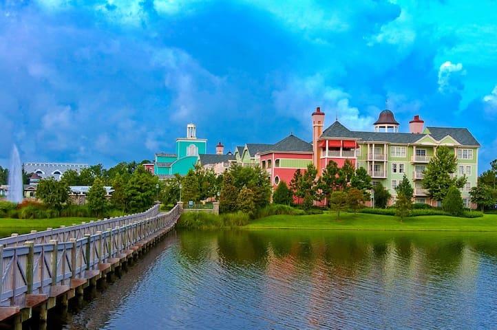 Disney's Saratoga Springs 1 BDRM/1 BA Sleeps 4