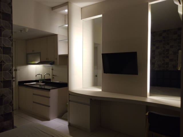 A studio apartment in the heart of malang city.