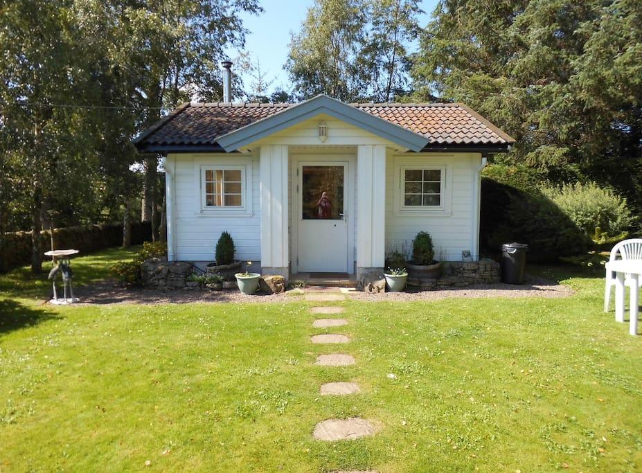 Hilltop Cottage in Summer