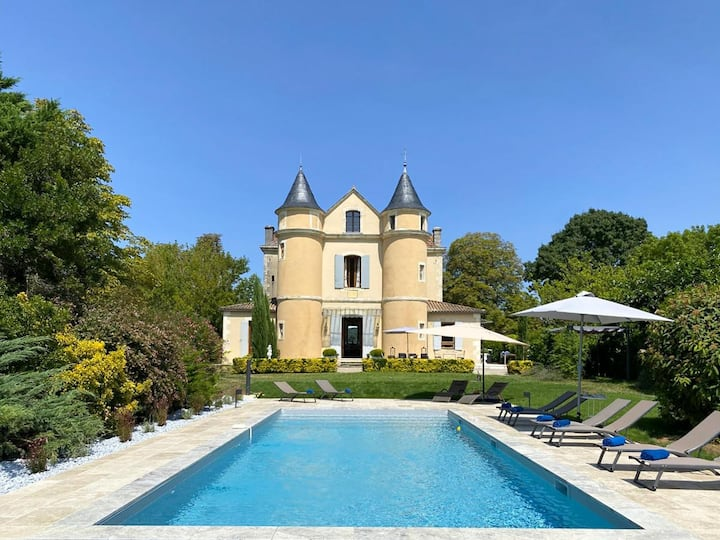 Chateau Seyches at Nouvelle-Aquitaine