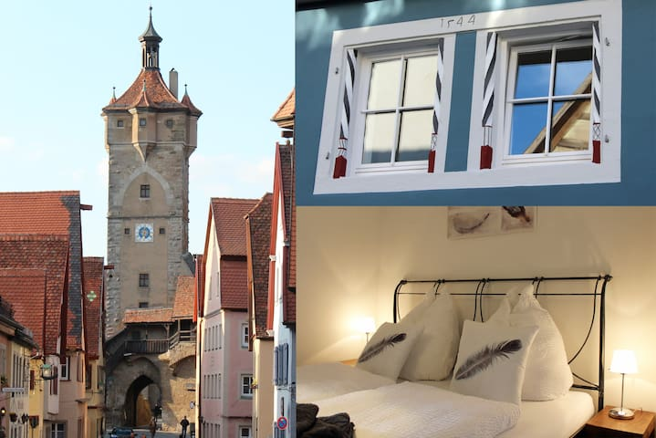 Modern apartment in the medieval center - Rothenburg ob der Tauber - Appartement