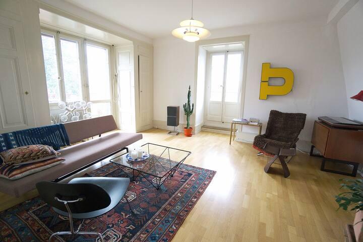 Wohnung mit Stil, Charme und grandiosem Ausblick