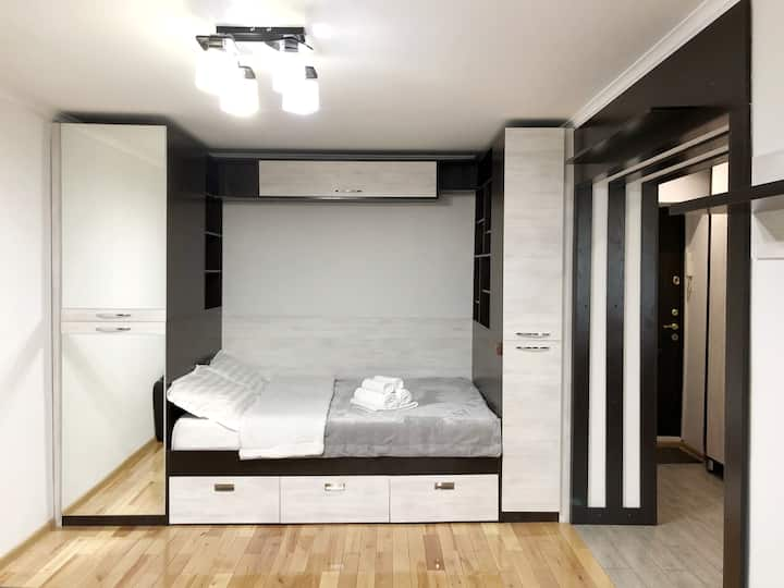 1 комнатная уютная квартира в районе Атакент-ЭКСПО