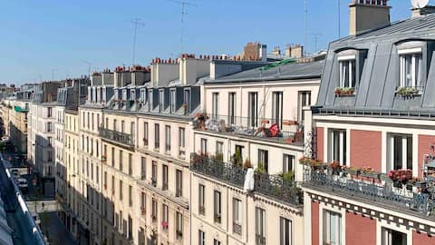 Cocoon T2 appartement close City Hall & Montmartre