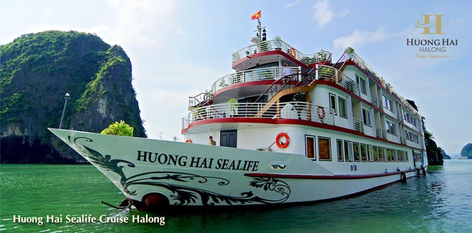 Huong Hai Sealife Cruise - Ha Long Bay - Thành phố Hạ Long - Barca