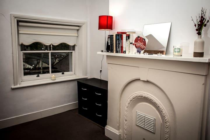 Smart drawers for smart organising of guests' belongings.