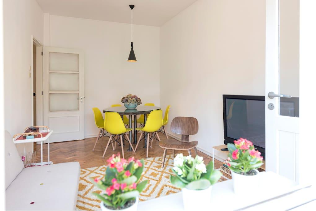 Living Room W/ Balcony