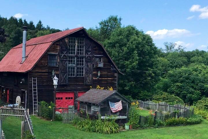 Spacious Barn Home.