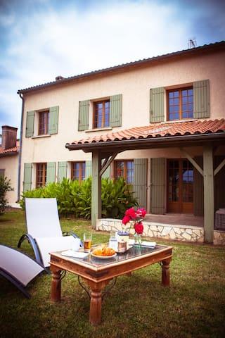 """Le Vallon de Guerry : Suite """"La Garonnaise"""" - Sainte-Colombe-de-Duras - Dům pro hosty"""