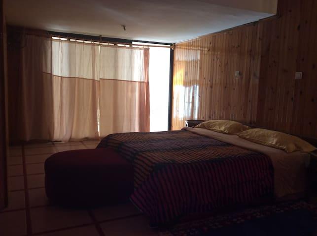 Chambre 1 avec lit double pour deux personnes