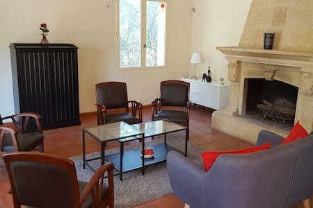 Provence, Oliviers, Grande villa, Piscine de 15x4 - Cornillon-Confoux