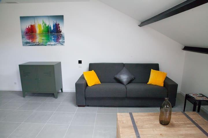 Le canapé lit