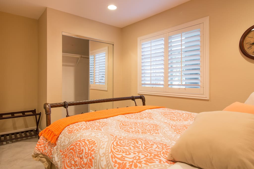 Bedroom view - closet.