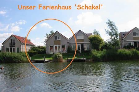 Ferienhaus 'Schakel' am IJsselmeer - Makkum - Hus