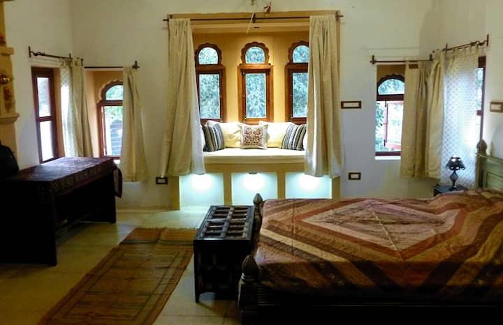 Hamari Haveli Deluxe Front Room